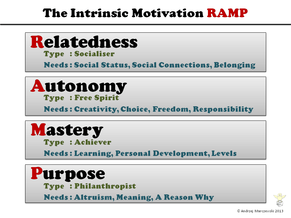 Intrinsic Motivation RAMP