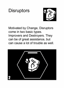 Gamification User Type Disruptor